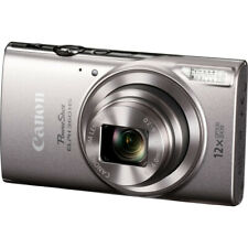 Canon PowerShot ELPH 360 HS Digital Camera with 12x Optical Zoom, Wi-Fi - Silver