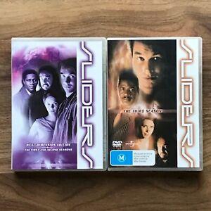 SLIDERS Season 1-3 DVD - As New