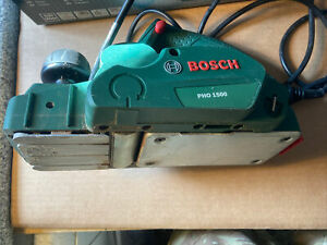 Bosch PHO 1500 - 550w electric planer 240v - Boxed with manual No Reserve Sale