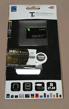 E- BLUE 32 IN 1 T8 SD XC MS CF MEMORY CARD READER WRITER - RRP=£17.99