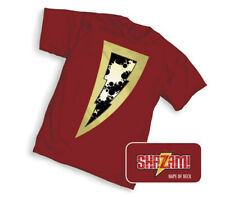 SHAZAM ! DC Symbol Hanes Graphitti Designs T-Shirt 2019 Mens S Small Brand New
