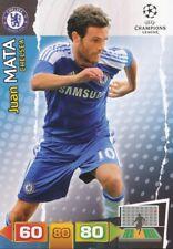JUAN MATA ESPANA CHELSEA.FC CARD ADRENALYN CHAMPIONS LEAGUE 2012 PANINI