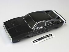 Kyosho FAB404 Dodge 1970 Charger Black Painted Body : 1/10 200mm / Fazer Vei