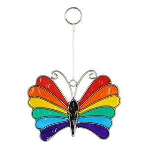 Rainbow Butterfly Suncatcher - Brand New