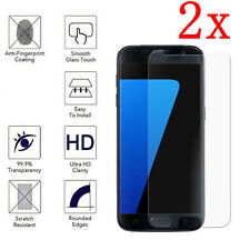 2X New Crystal Clear Plastic Cover Screen Protector Film For Samsung Galaxy S7