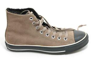 692 Converse All Star Winterschuh Sneaker High Top Schuh Leder Chucks Braun 37