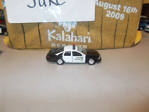 CHEVROLET CAPRICE ANAHEIM CALIFORNIA POLICE CAR REPLICA DIECAST 1/43 ROAD CHAMPS