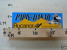 STICKER,DECAL RUCANOR PARIS-DAKAR 1988-1990