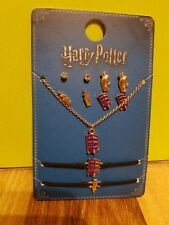💕💖 Harry Potter Knight Bus Jewellery Set Earrings Necklace Bracelet 💖💕