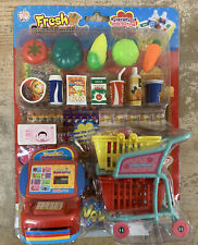 Pretend Play Supermarket Food Accessories Ages 3+ New