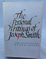 The Personal Writings of Joseph Smith compiled by Dean Jessee LDS Mormon books