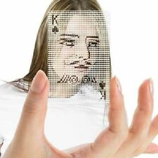 Poker Face Deck of Cards Transparent Pokerface See-Through By Molla Space