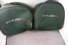 2 x CHUB XL NEOPRENE REEL POUCH CASES FOR BIG PIT or SEA REEL, DAIWA/SHIMANO ETC