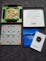 Vintage Spears Games Travel Scrabble Complete Clip On Tiles Board Game...