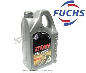 For 5 Liter Auto Trans Fluid Equivalent to Texaco ETL-7045E Fuchs Titan ATF 4000