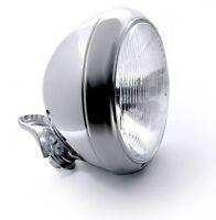 7 Zoll Scheinwerfer Riffelglas Chrom