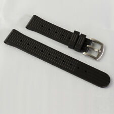 Sharkey MM300 SBDX001/012/01 6105  SOFT Rubber Waffle Watch Band for  20MM