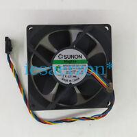 For SUNON MF80201VX-Q010-S99 8020 12V 3.84W 4pin Cooling Fan