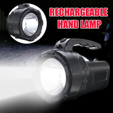 10w Rechargeable Torch LED Candle Power Work Spot Light Camping Hand Flash Lamp