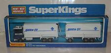 Matchbox SuperKings K21 Ford Transcontinental Truck Santa Fe RARE NIB