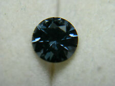 rare BLUE Spinel gem Diamond cut rnd Tunduru Tanzania natural untreated Gemstone
