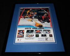 Chris Pronger NHL Hitz 2003 PS2 Xbox Framed 11x14 ORIGINAL Advertisement