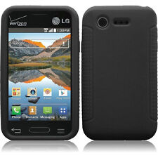 Silicone Protector Gel Soft Skin Cover Case for  LG Optimus Zone 2 vs415pp Phone
