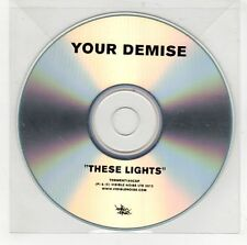 (GI575) Your Demise, These Lights - 2012 DJ CD