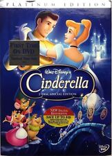 Cinderella DVD 2005 2-Disc Set Special Edition DVD Platinum Collection BRAND NEW