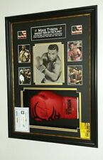 *** Rare MIke Tyson SIGNED GLOVE OFFICIAL Display ***
