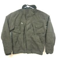 Helly Hansen Mens Brown Corduroy Jacket Coat Size Medium