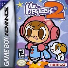 Mr. Driller 2 GBA New Game Boy Advance