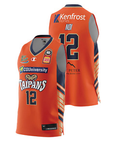 Cairns Taipans 20/21 Authentic Home Jersey - Kouat Noi, NBL Basketball