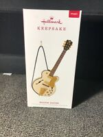 ROCKIN' GUITAR HALLMARK ORNAMENT 2019 NEW IN BOX WITH SOUND