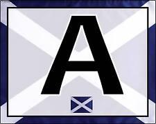 Dressage Arena Markers / Letters x 8 SCOTTISH SALTIRE DESIGN !