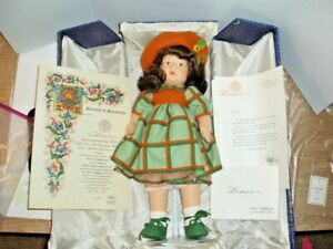 """Lenci """"CLO CLO"""" Cloth Doll 1978 Large 20 Inch- In Box With Certificates"""