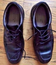 BOSTONIAN Mens Oxfords Black Leather Made in India Sz 11M US Excellent Condition