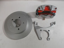 "Kodiak Disc Brake Kit 10"" Over-the-Hub Rotor 5 x 4.5 Dacromet 3500# Boat Trailer"