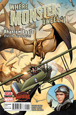 WHERE MONSTERS DWELL (2015) #1 VF/NM SECRET WARS FRANK CHO COVER