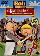 BRAND NEW DVD // BOB THE BUILDER // THE KNIGHTS OF FIX A  LOT //