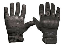 Valken Zulu Black Tactical Full Finger Paintball Airsoft Gloves Large L New