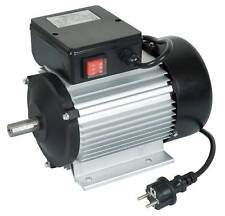 MOTEUR ELECTRIQUE 2CV/2800tr/min  + INTERRUPTEUR - 220V