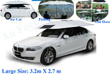 New Portable Auto Car Tent Umbrella Sun Shade Roof Cover UV Outdoor with Stand
