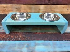 """3"""" Elevated Pet Food Bowl Feeder Stand -Raised for Cats, Small Dogs & other Pets"""