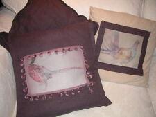 Coussins et galettes de sièges-Fait main-en lin pour la décoration intérieure de la maison