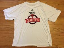 Derrick Rose practice warm Chicago Bulls Charity Night pregame shirt, size XL