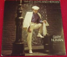 """Gary Numan~White Boys And Heroes/War Games [Pic Sleeve; 7""""@45] 1982"""