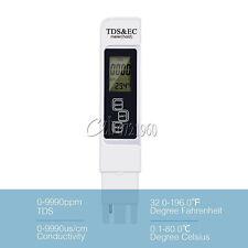 3 In 1 Multifunctional TDS EC PPM Water Meter Tester Pen LCD Display Quality
