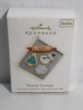 Hallmark Keepsake Ornament 2009 Season's Treatings 2009 First 1st Series Cookies