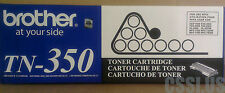 BRAND NEW GENUINE OEM BROTHER TN-350 TONER CARTRIDGE DCP-7020/FAX2820/MFC-7220